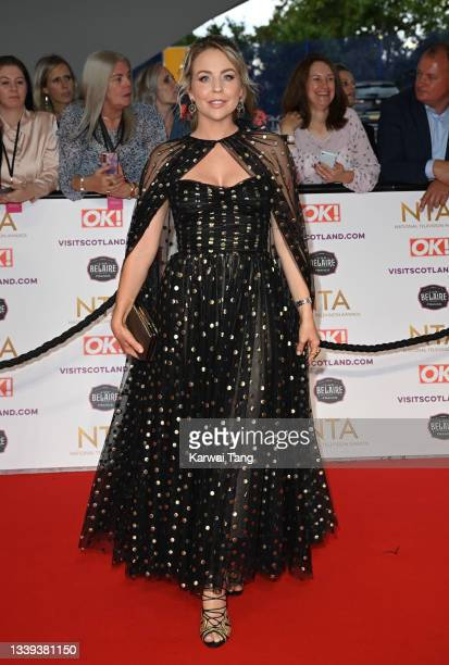 Lydia Bright attends the National Television Awards 2021 at The O2 Arena on September 09, 2021 in London, England.