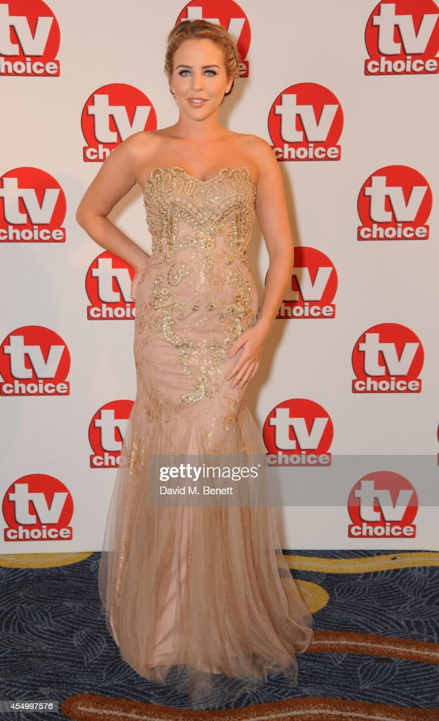 Lydia Bright attends the TV Choice Awards 2014 at the London Hilton on September 8, 2014 in London, England.