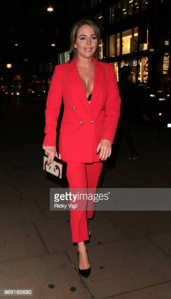 Lydia Bright Boux Avenue Christmas campaign launch on November 1 2017 in London England