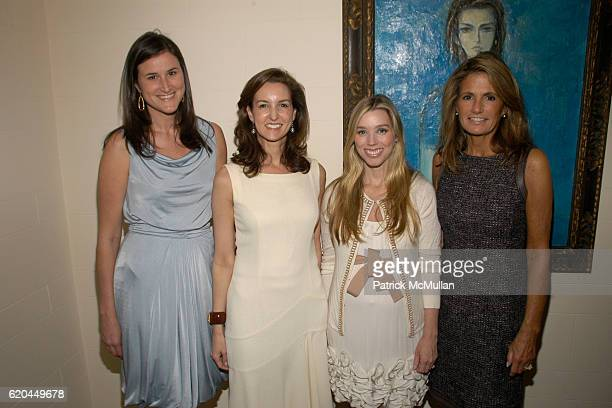 Lydia Fenet Alexia Hamm Ryan Alexandra Lind Rose and Elizabeth Meigher attend Christie's Hosts Kickoff for The Society of Memorial Sloan Kettering...