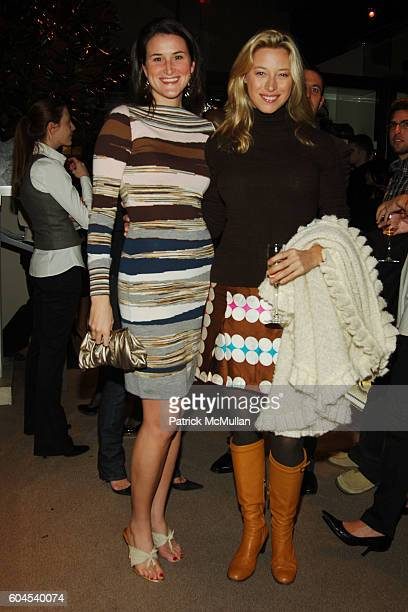 Lydia Fenet and Beth Kaltman attend Celebration of GUCCI by GUCCI and their 85th Anniversary at Gucci on November 1 2006 in New York City