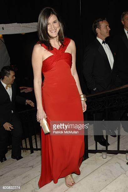 Lydia Fenet attends MUSEUM of the CITY OF NEW YORK Director's Council and DIOR WINTER BALL at Museum of the City of New York on March 12 2008 in New...