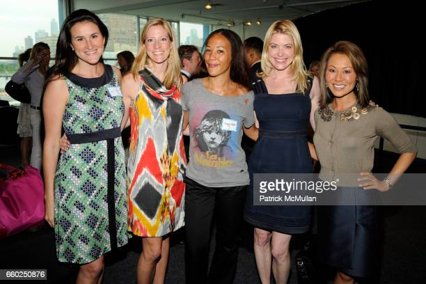 Lydia Fenet Martin Gibson Dessoffy Maggie Betts Amy McFarland and Alina Cho attend NEW YORKERS FOR CHILDREN 'Sports Network to Success' Event for...