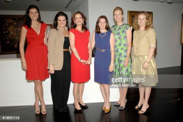 Lydia Fenet, Shauna Brook, Debra Black, Wendy Selig, Heather Leeds and Nathalie Kaplan attend DAVID YURMAN & CHRISTIE'S host a benefit for the...