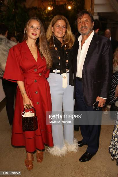 Lydia Forte Aliai Ricci Rocco Forte attend the Montunas Summer Fiesta at Wild At Tart on June 20 2019 in London England