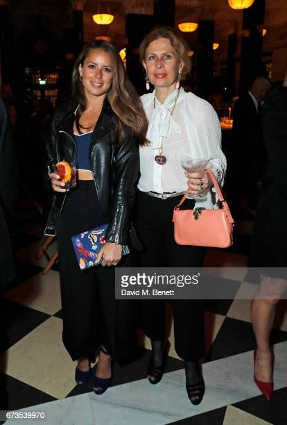 Lydia Forte and Aliai Forte attend the launch of The Ned London on April 26 2017 in London England