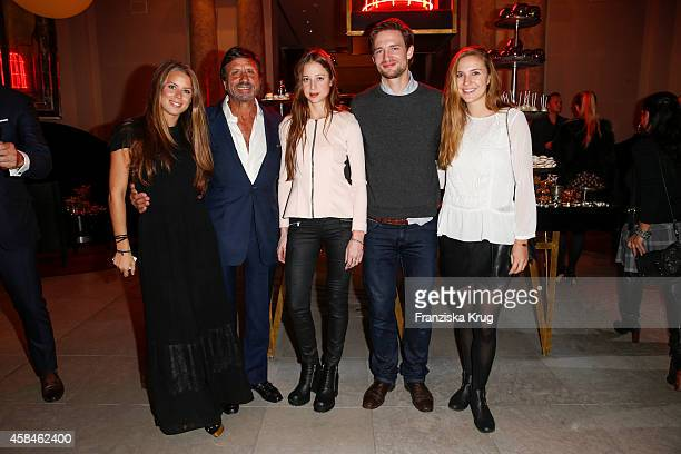 Lydia Forte Sir Rocco Forte Sandra von Ruffin August zu SaynWittgenstein Berleburg and Janna SchmidtHoltz attend the ReOpening of the 'La Banca'...