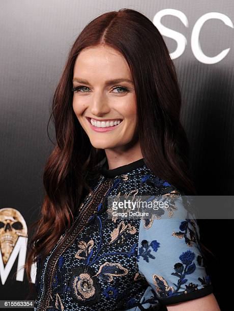 Lydia Hearst arrives at Screamfest 2016 Opening Night Screening of 'Trash Fire' at TCL Chinese Theatre on October 18 2016 in Hollywood California