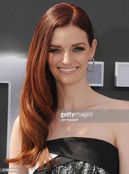 Lydia Hearst arrives at the Los Angeles Premiere 'Terminator Genisys' at Dolby Theatre on June 28 2015 in Hollywood California