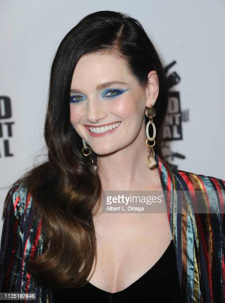 Lydia Hearst arrives for The 2019 Hollywood Reel Independent Film Festival held at Regal LA Live Stadium 14 on February 15 2019 in Los Angeles...