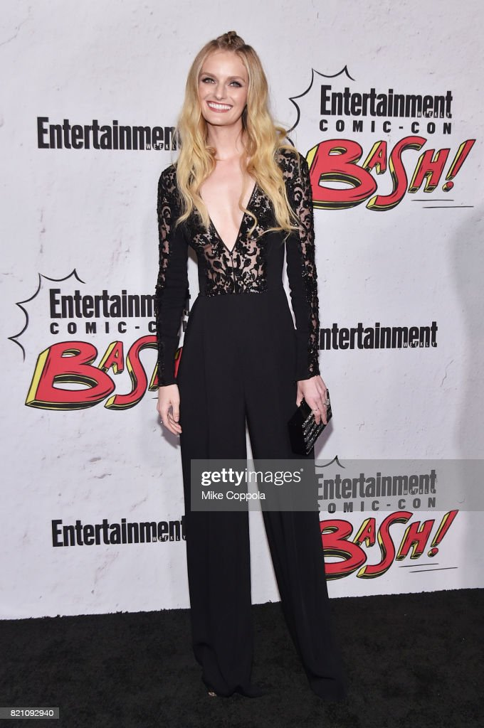 Lydia Hearst at Entertainment Weekly's annual Comic-Con party in celebration of Comic-Con 2017 at Float at Hard Rock Hotel San Diego on July 22, 2017 in San Diego, California.