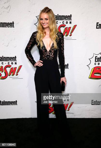 Lydia Hearst at Entertainment Weekly's annual ComicCon party in celebration of ComicCon 2017 at Float at Hard Rock Hotel San Diego on July 22 2017 in...