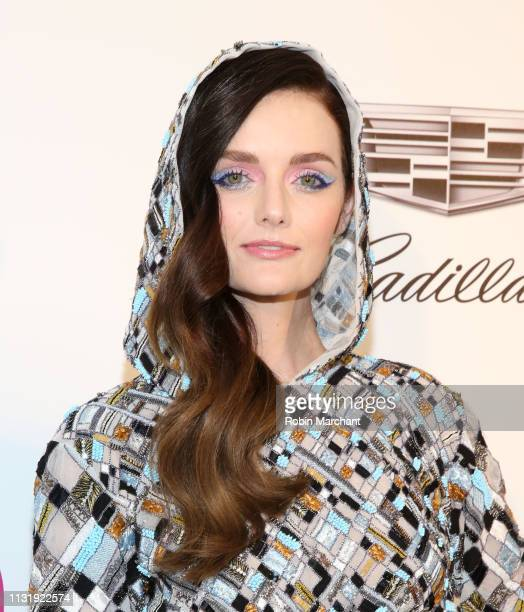 Lydia Hearst attends 27th Annual Elton John AIDS Foundation Academy Awards Viewing Party Celebrating EJAF And The 91st Academy Awards on February 24...