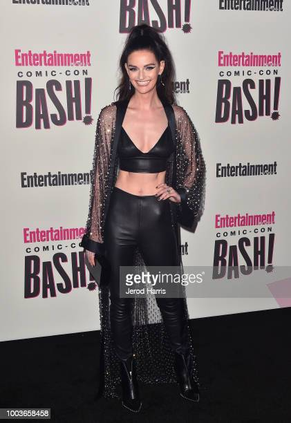 Lydia Hearst attends Entertainment Weekly's ComicCon Bash held at FLOAT Hard Rock Hotel San Diego on July 21 2018 in San Diego California sponsored...