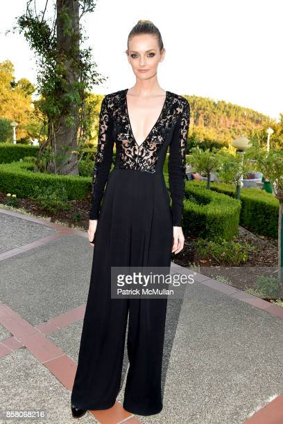 Lydia Hearst attends Hearst Castle Preservation Foundation Benefit Weekend 'James Bond 007 Costume Gala' at Hearst Castle on September 29 2017 in San...