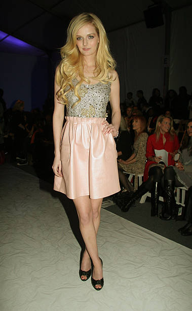 Lydia Hearst Attends Joanna Mastroianni Fall 2008 During The Mercedes Benz Fashion Week At