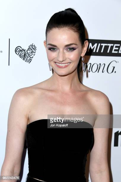 Lydia Hearst attends Marie Claire's 5th annual 'Fresh Faces' at Poppy on April 27 2018 in Los Angeles California