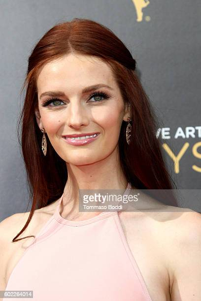 Lydia Hearst attends the 2016 Creative Arts Emmy Awards held at Microsoft Theater on September 10 2016 in Los Angeles California