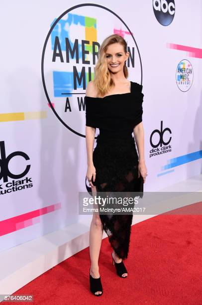 Lydia Hearst attends the 2017 American Music Awards at Microsoft Theater on November 19 2017 in Los Angeles California