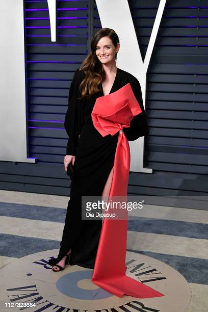 Lydia Hearst attends the 2019 Vanity Fair Oscar Party hosted by Radhika Jones at Wallis Annenberg Center for the Performing Arts on February 24 2019...