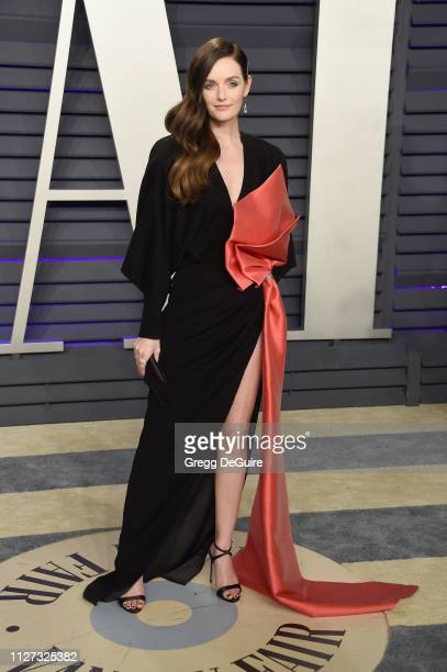 Lydia Hearst attends the 2019 Vanity Fair Oscar Party hosted by Radhika Jones at Wallis Annenberg Center for the Performing Arts on February 24, 2019...