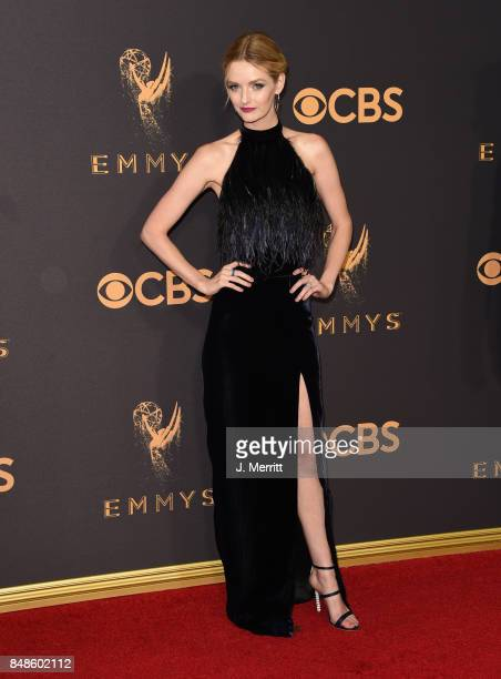 Lydia Hearst attends the 69th Annual Primetime Emmy Awards at Microsoft Theater on September 17 2017 in Los Angeles California