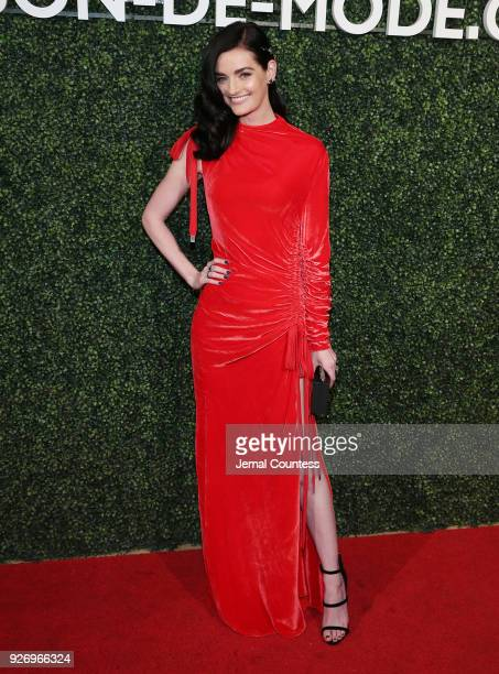Lydia Hearst attends the MAISONDEMODE Celebrates Sustainable Style By Honoring Suzy Amis Cameron Of Red Carpet Green Dress at Sunset Tower on March 3...