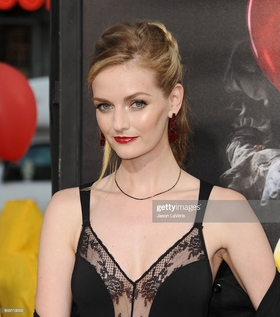 Lydia Hearst attends the premiere of 'It' at TCL Chinese Theatre on September 5, 2017 in Hollywood, California.