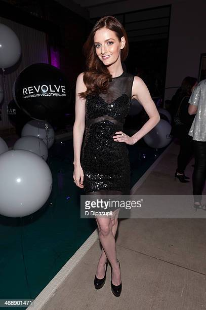 Lydia Hearst attends the REVOLVE relaunch party on February 11 2014 in New York City