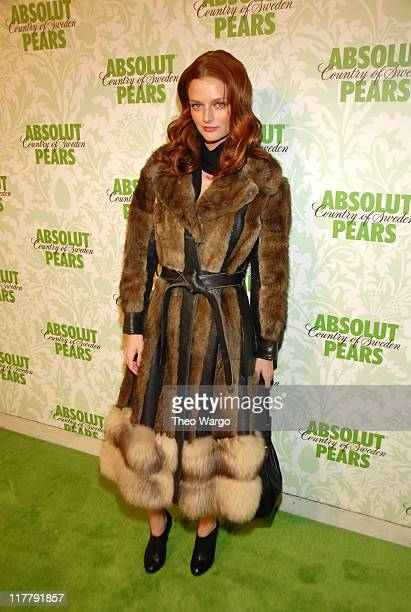Lydia Hearst during Carmen Electra Hosts the Absolut PEARS Launch Event in New York City New York United States
