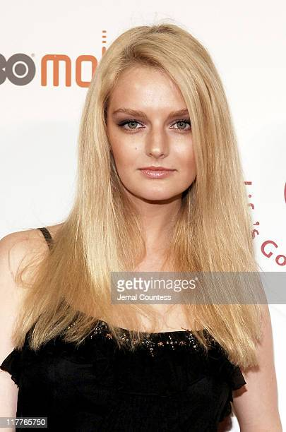 Lydia Hearst during Cingular and LG Host Preview Party for HBO Mobile and the New Cingular LGCU 500 Cell Phone 'Cingular' Carpet at Mr Chow Tribeca...