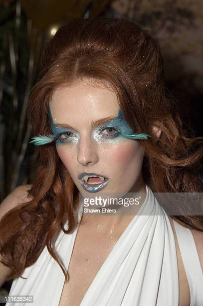 Lydia Hearst during Fabiola Beracasa Lydia Hearst Tinsley Mortimer Arden Wohl Olga Rei and Valentine Rei Host 'Golden Blast Halloween' at Bungalow 8...