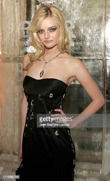 Lydia Hearst during Paris Fashion Week Ready to Wear Fall/Winter 2005 Harper's Bazaar Party at Plaza Athene in Paris France