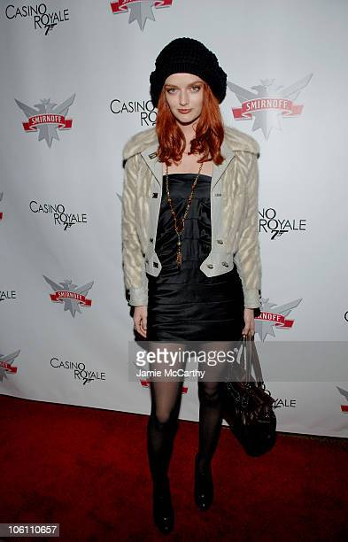 Lydia Hearst during Smirnoff Vodka Casino Royal and DJ AM Host Shaken and Stirred DJ Contest at Tenjune in New York City New York United States
