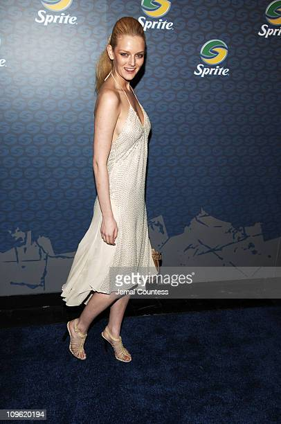 Lydia Hearst during Sprite Street Couture Showcase - Arrivals and Afterparty at Guastavino's in New York City, New York, United States.