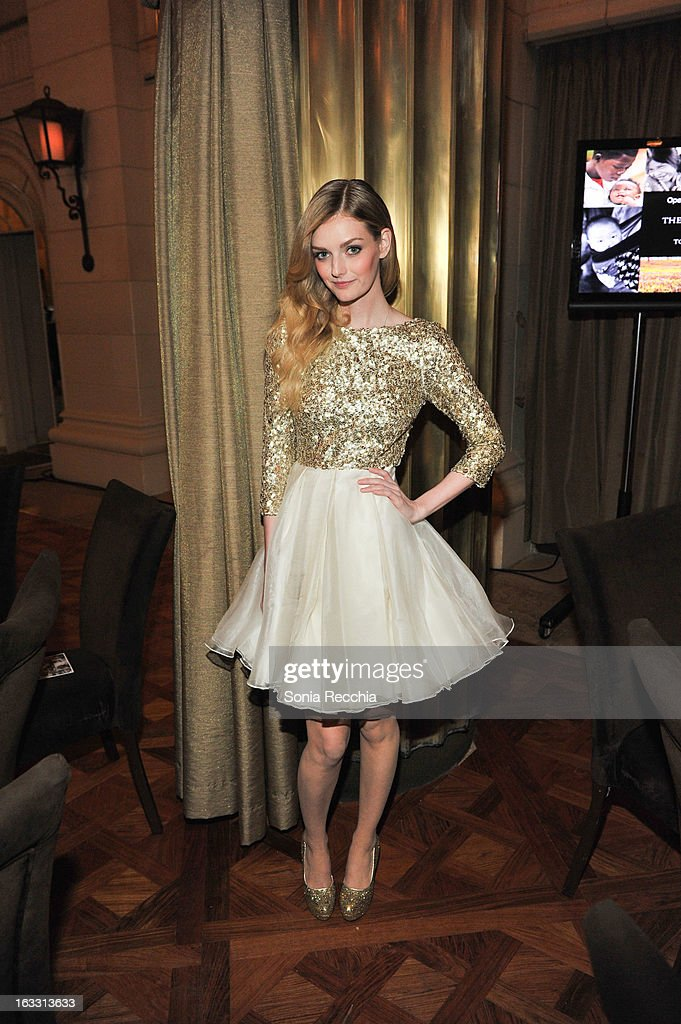 Lydia Hearst hosts Operation Smile's Toronto Smile Event at Windsor Arms Hotel on March 7, 2013 in Toronto, Canada.