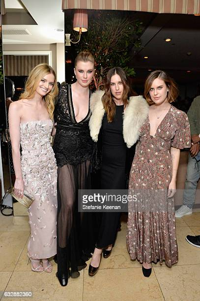 Lydia Hearst Ireland Baldwin Scout Willis and Tallulah Belle Willis attend Harper's BAZAAR celebration of the 150 Most Fashionable Women presented by...