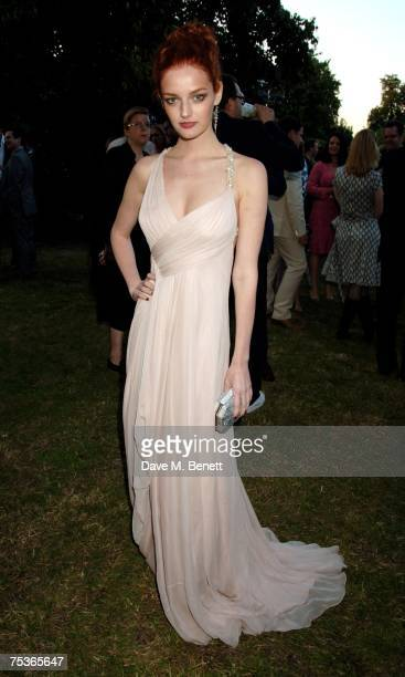 Lydia Hirst attends the Serpentine Summer Party at The Serpentine Gallery on July 11 2007 in London England