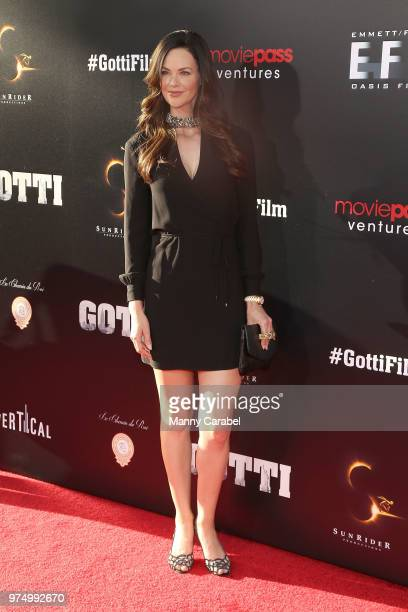 Lydia Hull attends the New York Premiere of 'Gotti' at SVA Theater on June 14 2018 in New York City