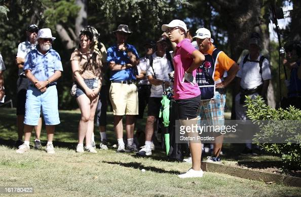 New Zealand Shooting Video Detail: Lydia Ko Of New Zealand Assesses Her Options After Over