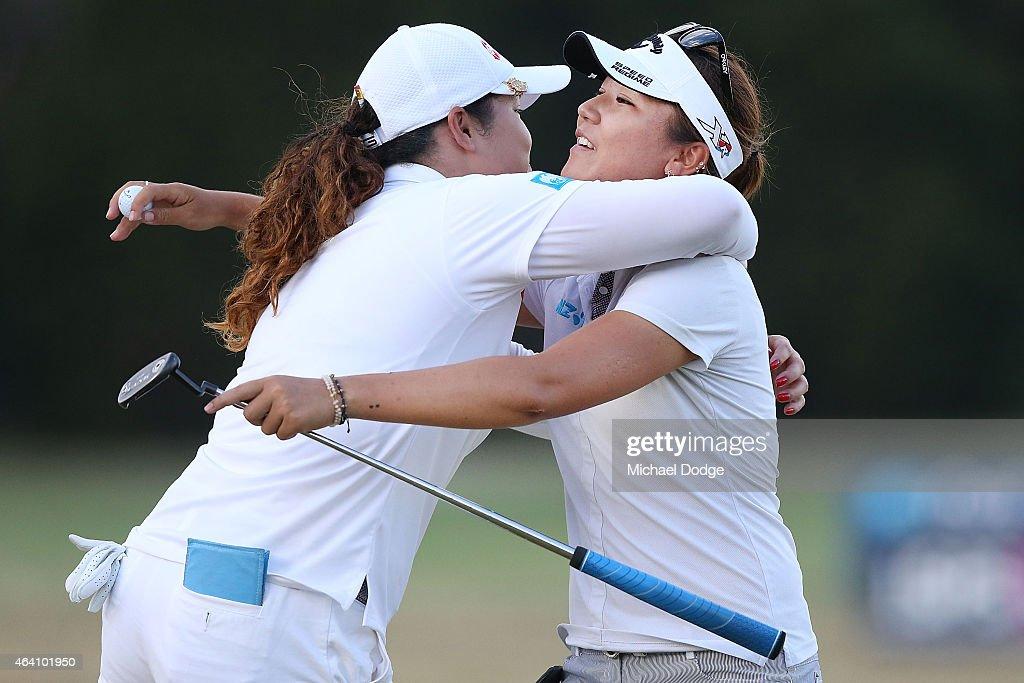 LPGA Australian Open - Day 4 : Foto jornalística