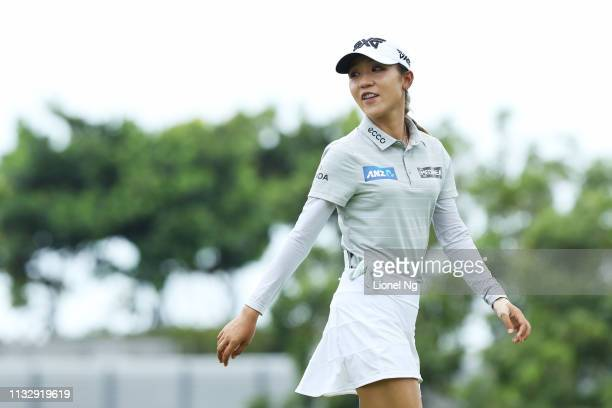 Lydia Ko of New Zealand walks during the second round of the HSBC Women's World Championship at Sentosa Golf Club on March 01 2019 in Singapore
