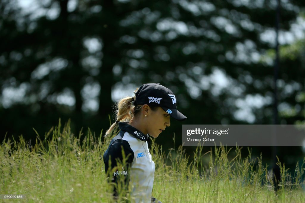 Lydia Ko of New Zealand walks on the 17th hole during the first round of the ShopRite LPGA Classic Presented by Acer on the Bay Course at Stockton Seaview Hotel and Golf Club on June 8, 2018 in Galloway, New Jersey.