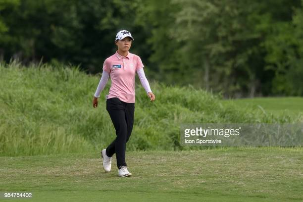 Lydia Ko of New Zealand walks up the fairway on during the First Round of the Volunteers of America Texas Classic on May 4 2018 at the Old American...