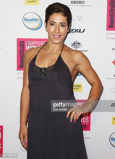 Lydia Lassila attends the Women's Health 'I Support Women In Sport' Awards at The Establishment on October 13 2014 in Sydney Australia