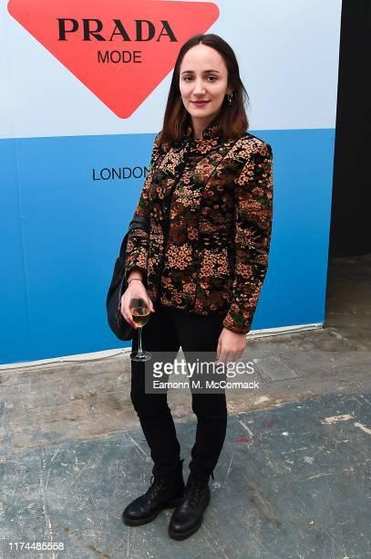 Lydia Leonard attends PRADA MODE LONDON on October 03 2019 in London England