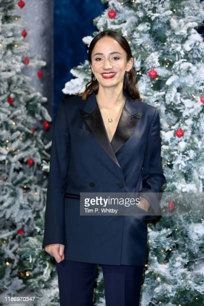 Lydia Leonard attends the Last Christmas UK Premiere at BFI Southbank on November 11 2019 in London England