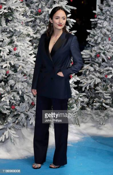Lydia Leonard attends the Last Christmas UK Premiere at the BFI Southbank on November 11 2019 in London England