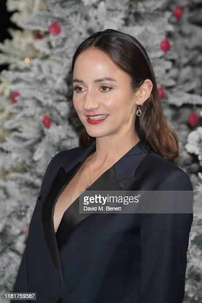Lydia Leonard attends the UK Premiere of Last Christmas at the BFI Southbank on November 11 2019 in London England