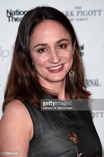 Lydia Leonard attends the 'Up Next Gala' at The National Theatre on March 05 2019 in London England